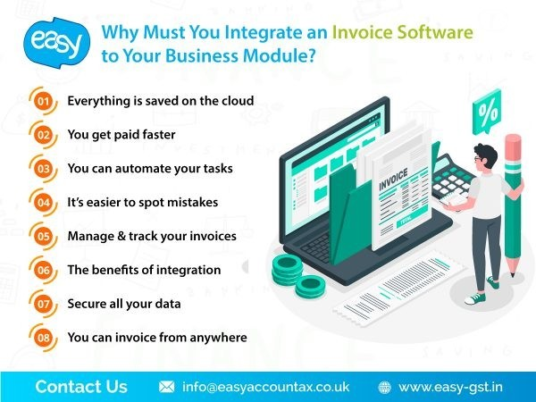 You Must Integrate an Invoice Software to Your Business Module