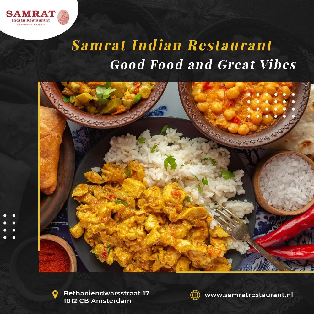 Indian Food Restaurant in Amsterdam