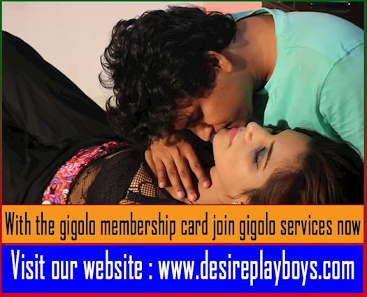 With the gigolo membership card join gigolo services now