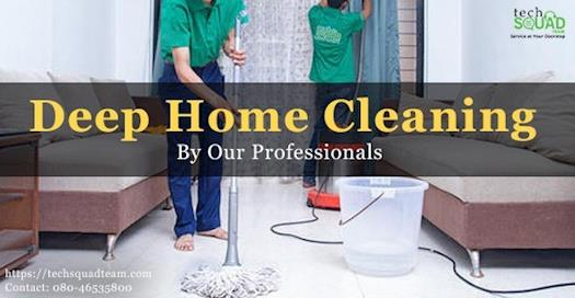 Deep Home Cleaning in Bangalore