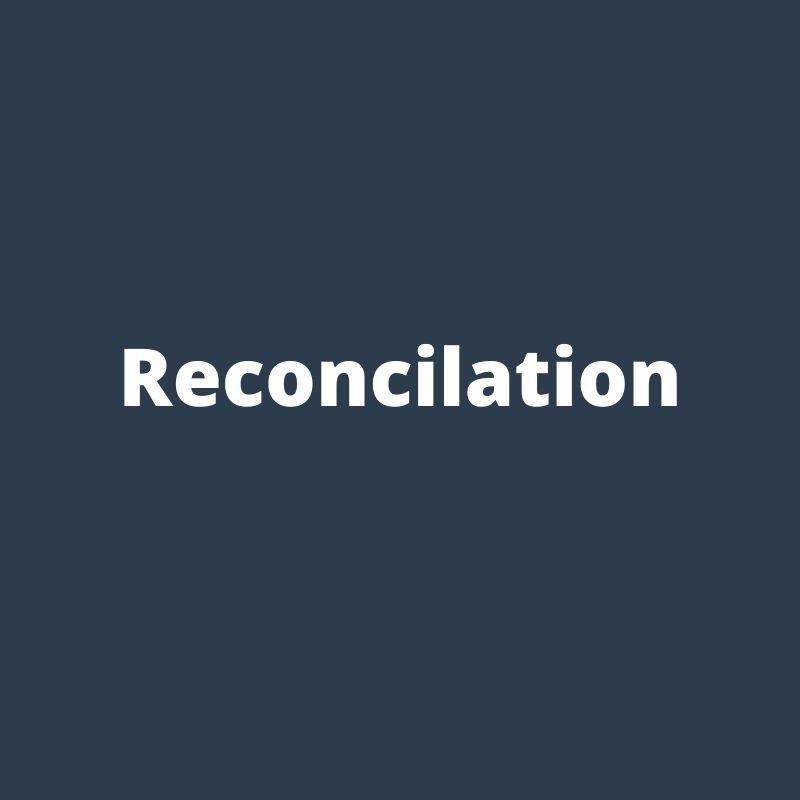 reconcilation