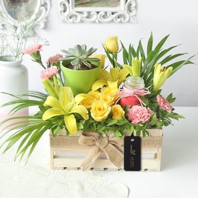 Online Flowers Delivery: Send Flowers to India, Order Flowers - Interflora India