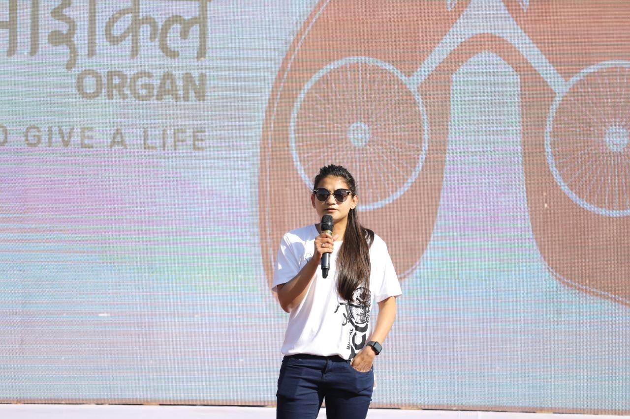 Ankita Shrivastava is a global youth icon for entrepreneurship, international athlete and liver dono