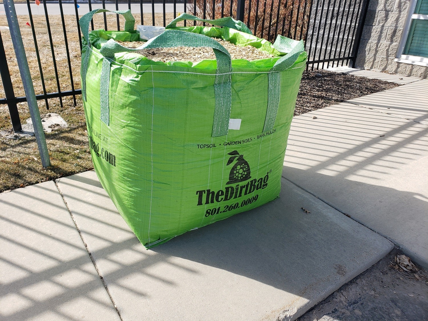 The Dirt Bag bagged landscaping products