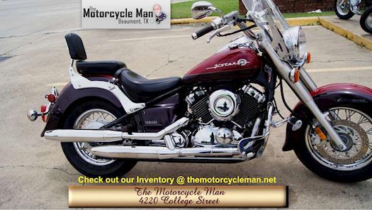 2000 Yamaha VStar Classic, Less than 10K miles, $3400