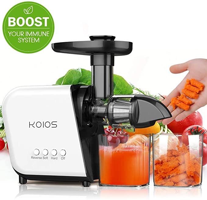 KOIOS Slow Masticating Juicer – Extractor Machines =60 dB
