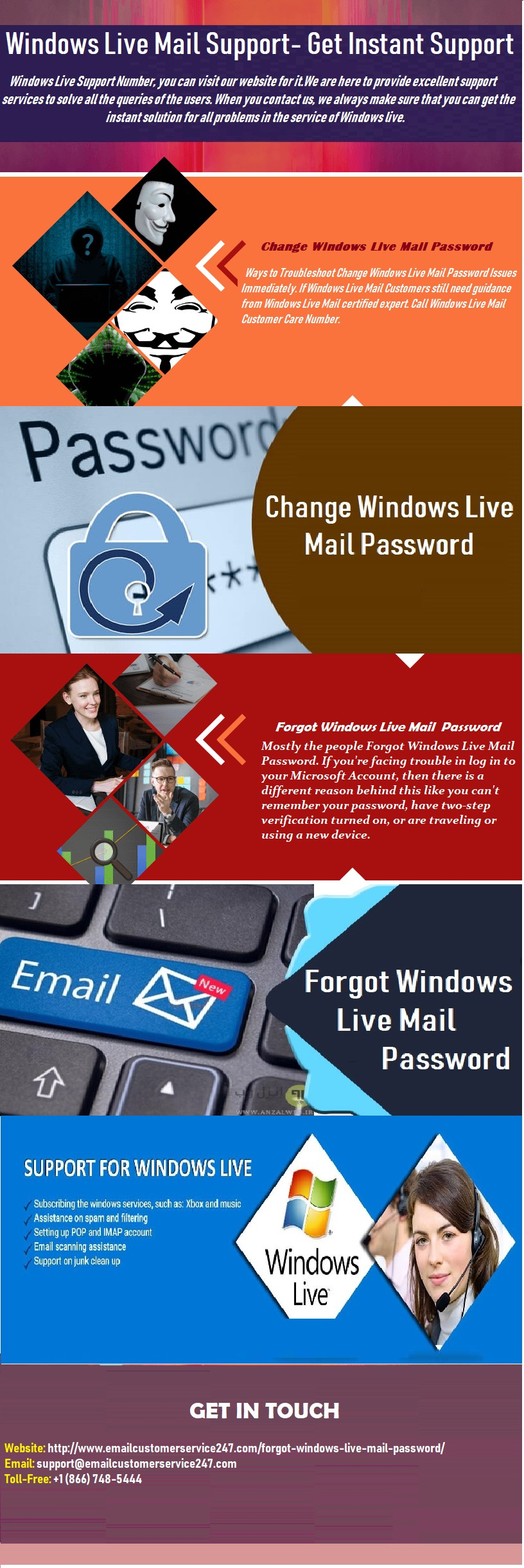 Forgot Windows Live Mail Password | Dial:+1-866-748-5444