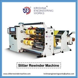 Manufacturer, Exporter And Supplier Of Slitter Rewinder Machine