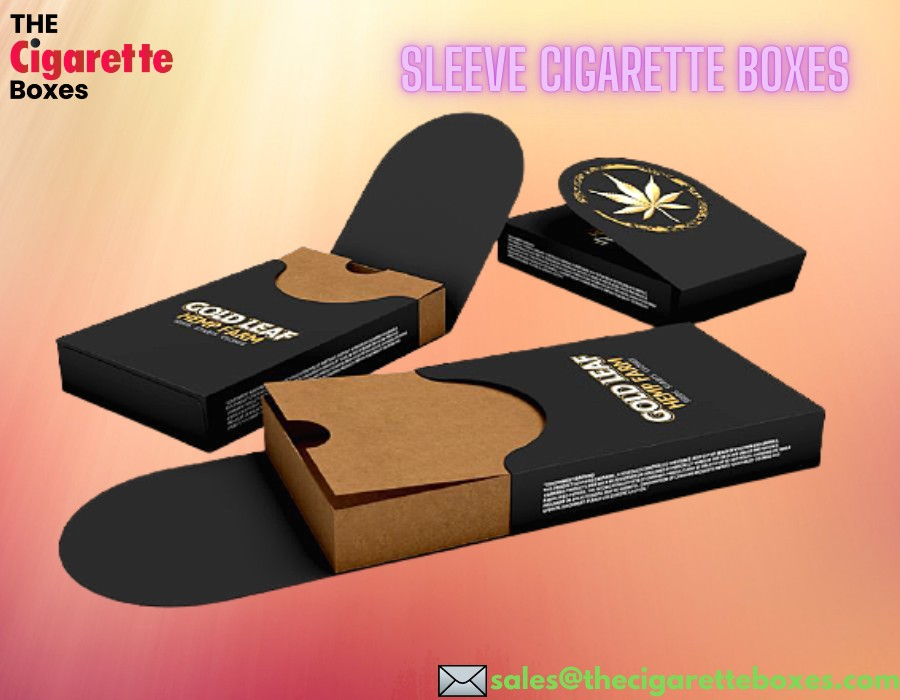 Sleeve Cigarettes Packaging