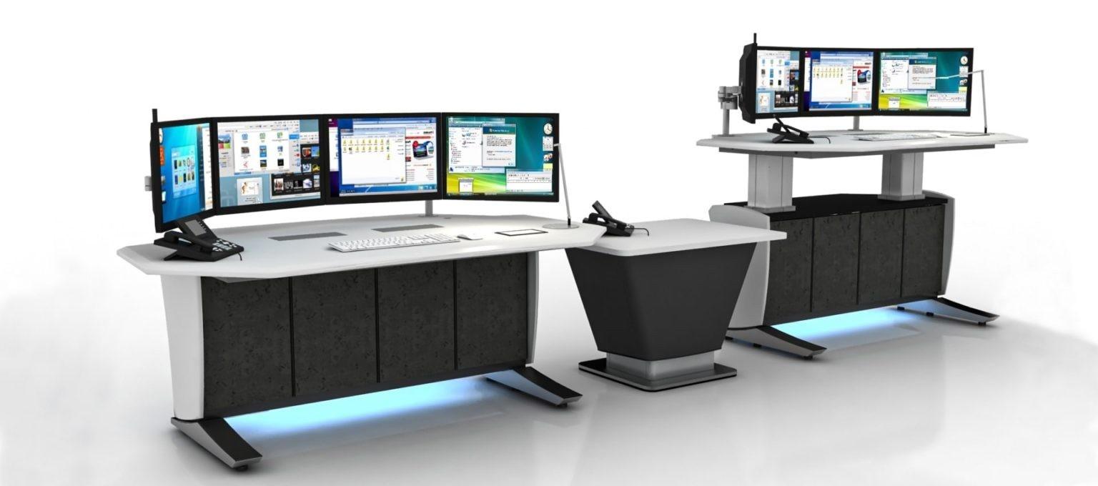 Emergency operation center (EOC) console furniture