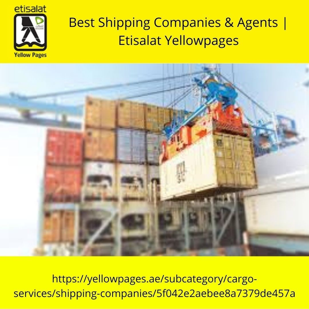 Best Shipping Companies & Agents | Etisalat Yellowpages