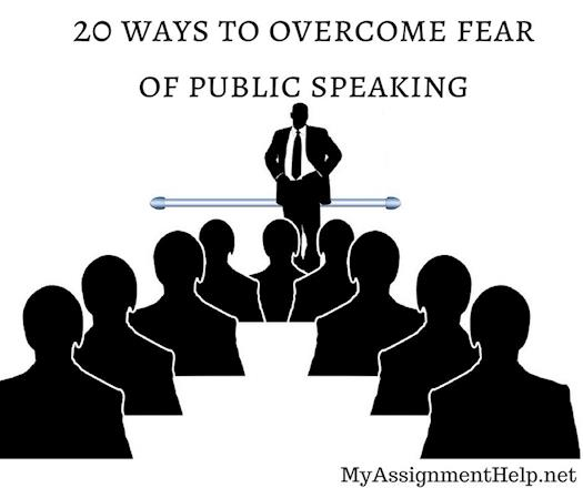 20 ways to overcome public speaking fear