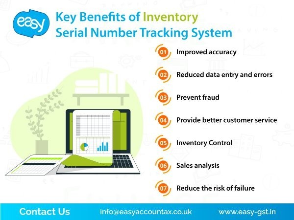 Key Benefits of Inventory Serial Number Tracking System