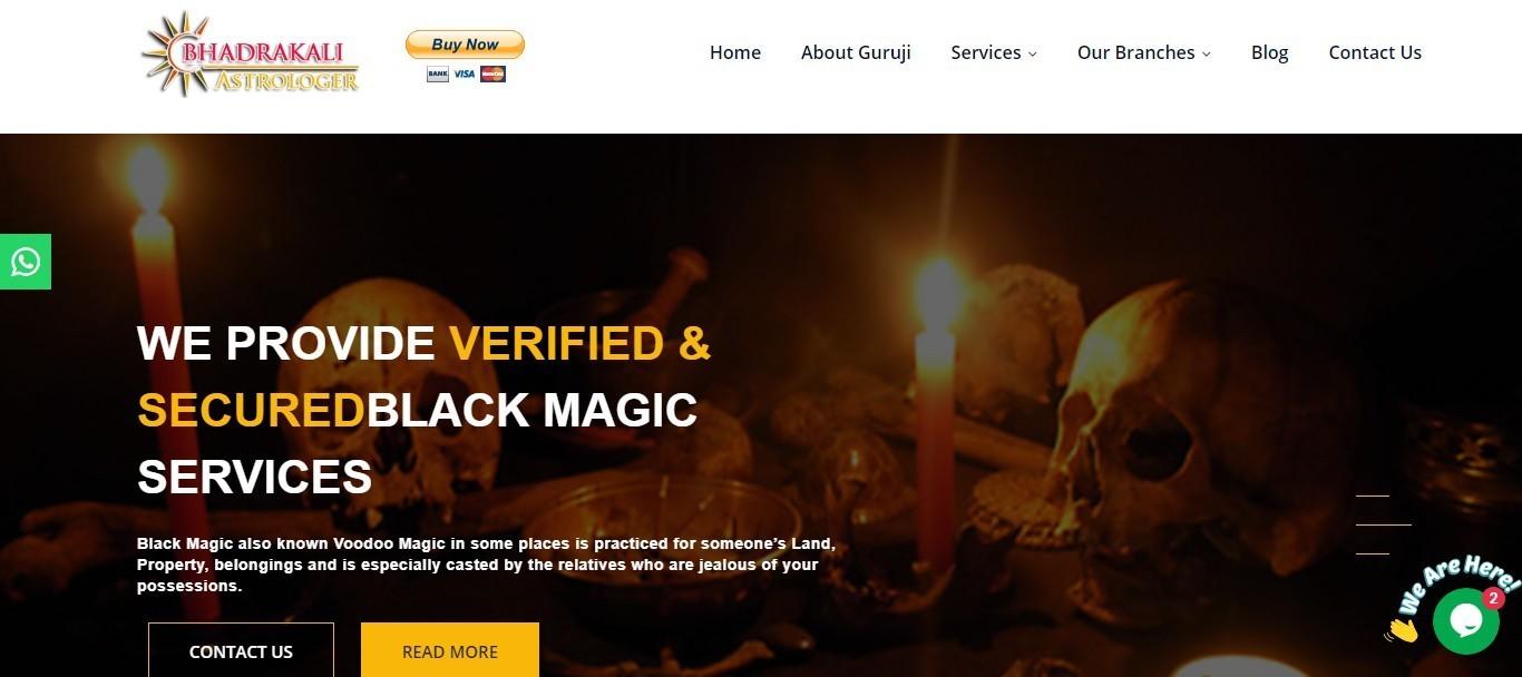 Black Magic Removal Specialist in Perth, Australia - Bhadrakali Astrologer: