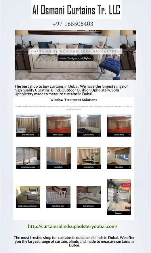 Custom Blackout Curtains in Dubai