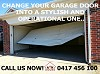 Change your garage door into a stylish and operational one Call A & K Doors 0417 456 100