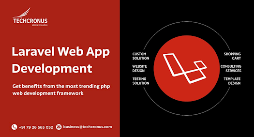 Laravel Web Application Development