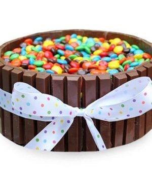 Wishbygift - Order Kitkat & Gems Cake Online