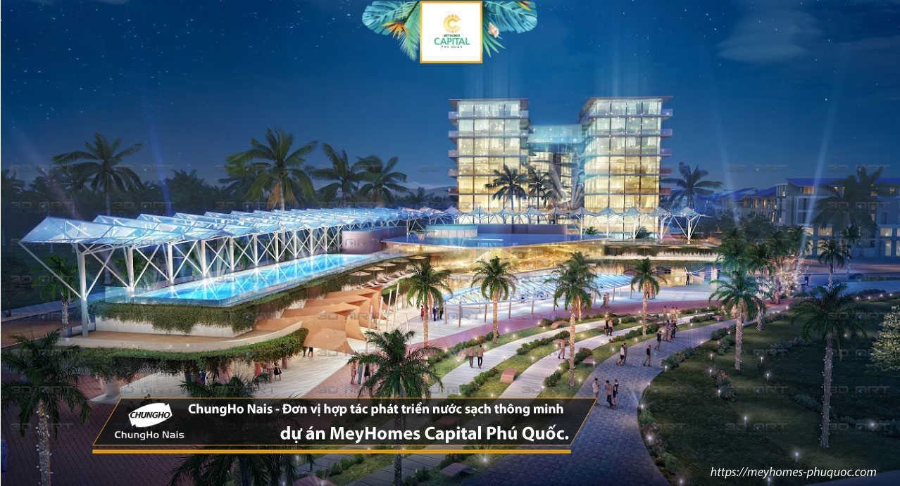 MeyHomes Capital Phú Qu?c - d? án Khu dô th? bi?t th?, nhà ph? Phú Qu?c