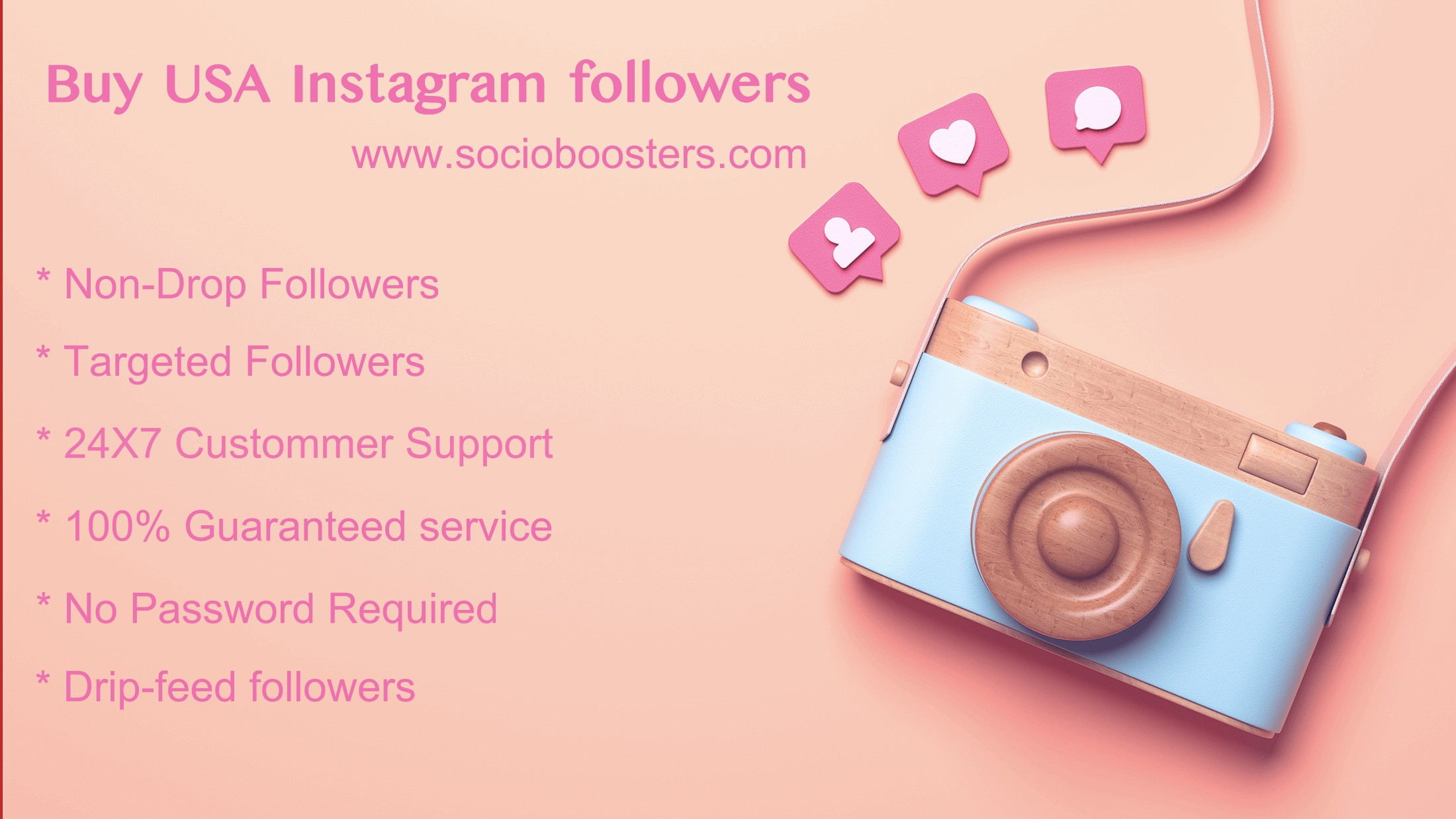 Buy USA Instagram followers Paypal