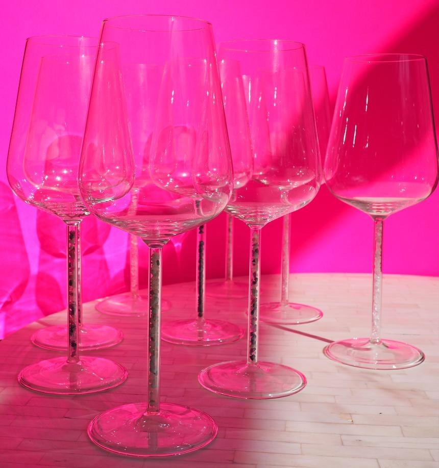 Crystal Red Wine Glasses