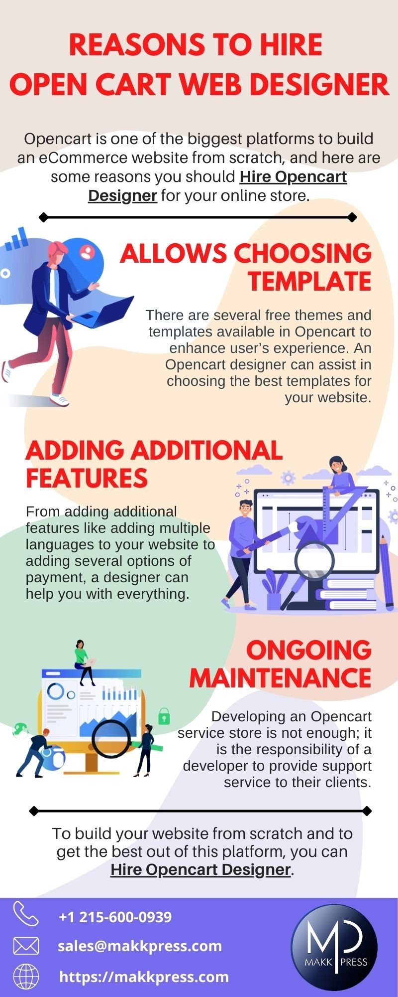 Reasons to Hire Open Cart Web Designer