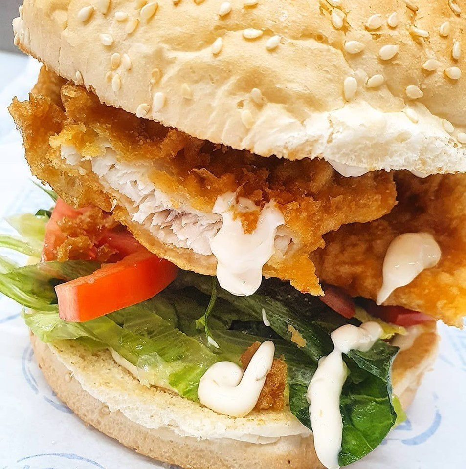 Fish Burgers in Moonee Ponds Vic