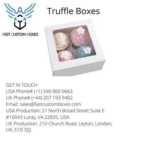 Truffle Boxes wholesale in USa