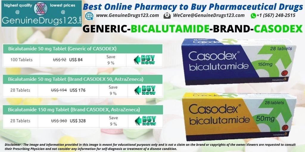 How much does bicalutamide cost?
