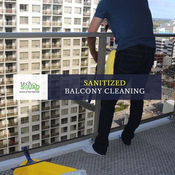 Sanitize Balcony Cleaning Services in Bangalore