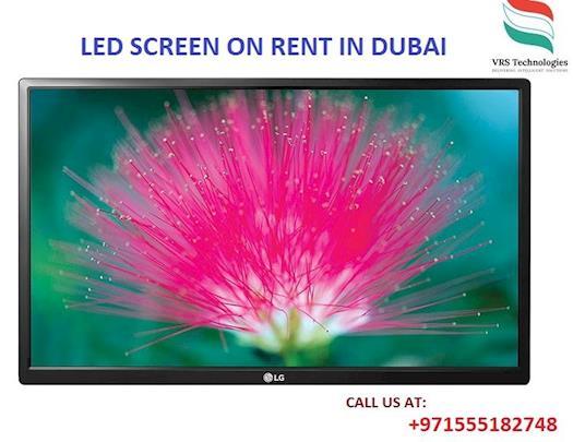 LED SCREEN ON RENT IN DUBAI