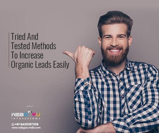 Tried And Tested Methods To Increase Organic Leads Easily