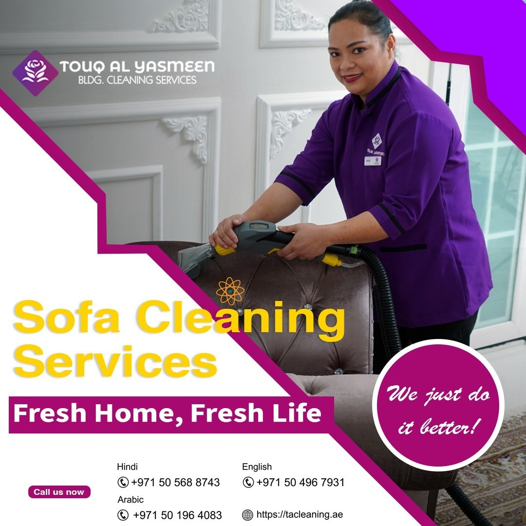 Sofa Cleaning Service in Sharjah