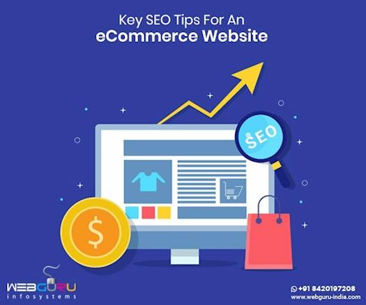 Key SEO Tips For An eCommerce Website