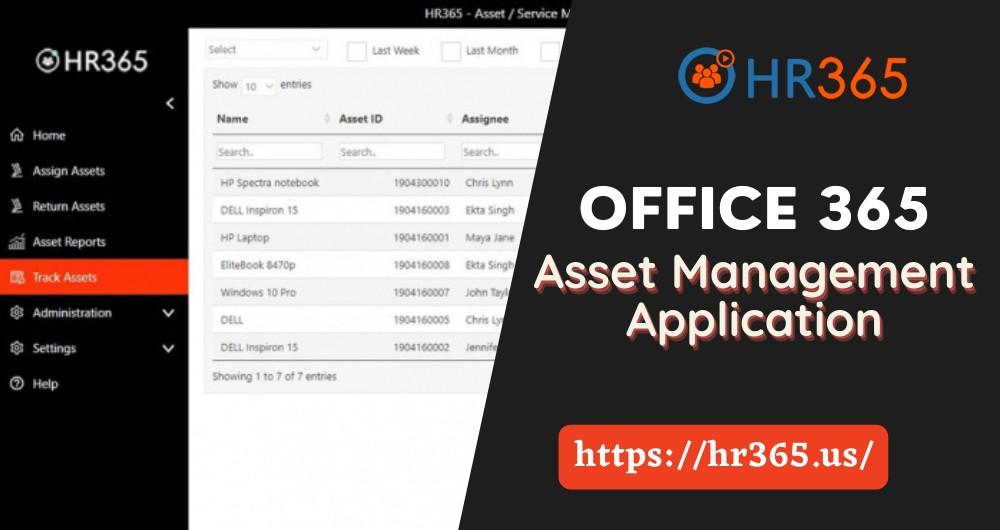 Asset Management Application | Cloud Asset Management | HR365