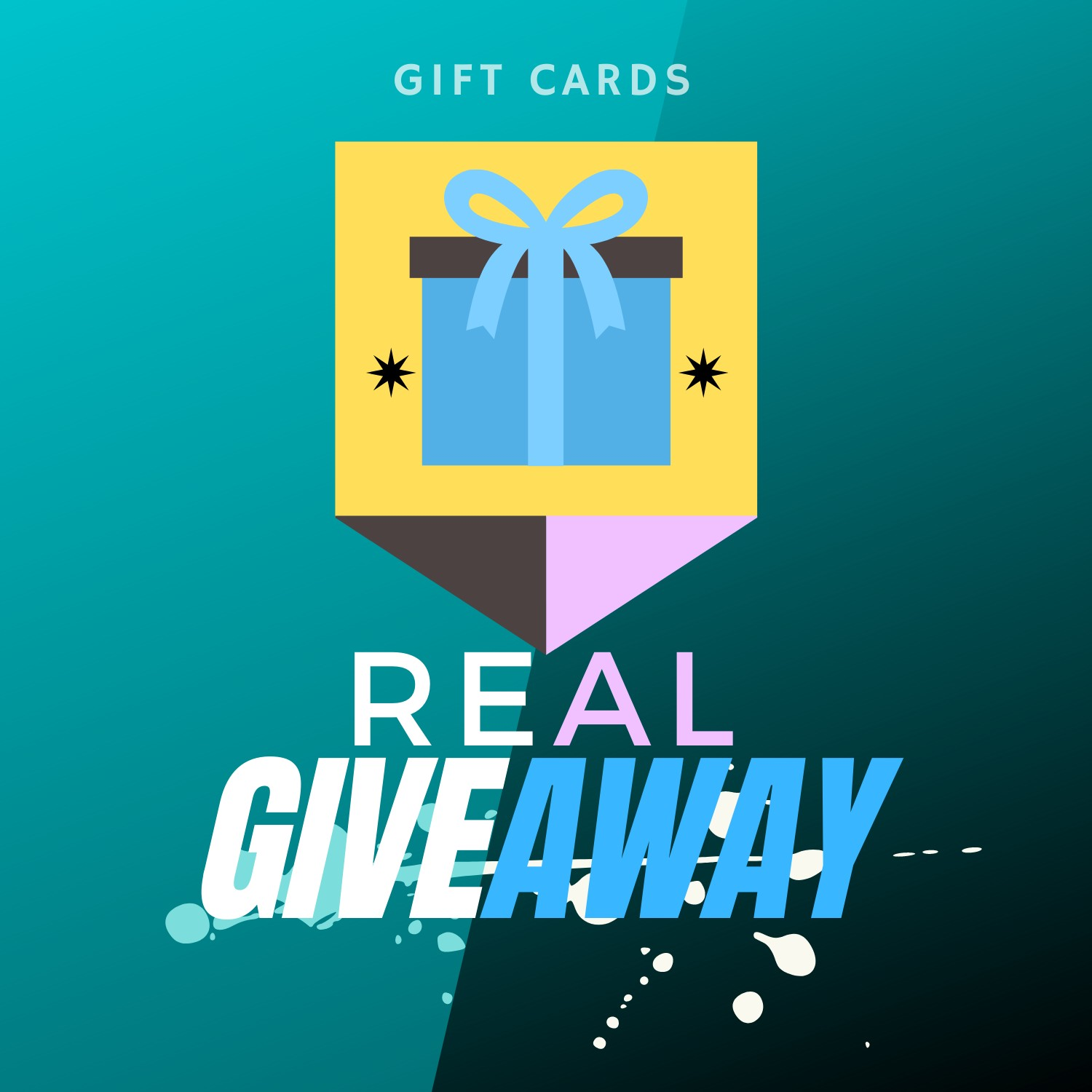 REAL GIVEAWAY SPACE