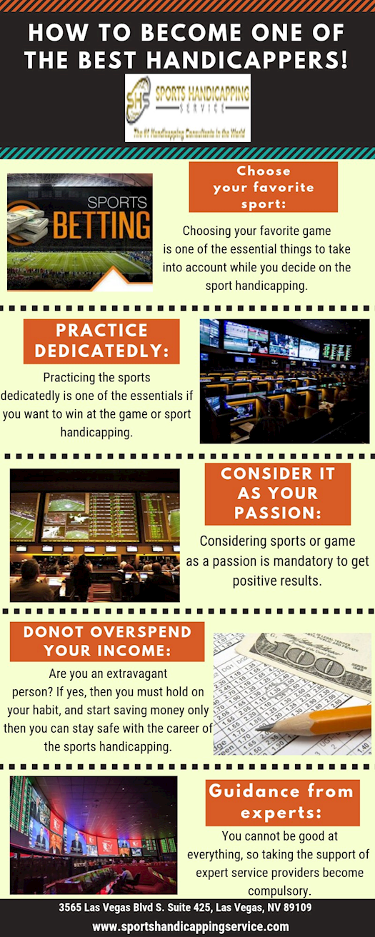 How to become one of the best Handicappers!