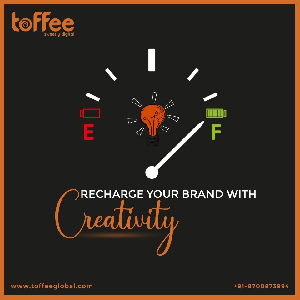 Recharge Your Brand With Creativity.