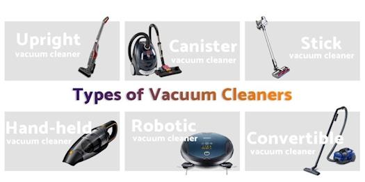 Types Of Pet Vacuum Cleaner