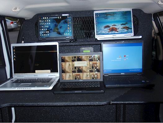 Ford Explorer Mobile Office