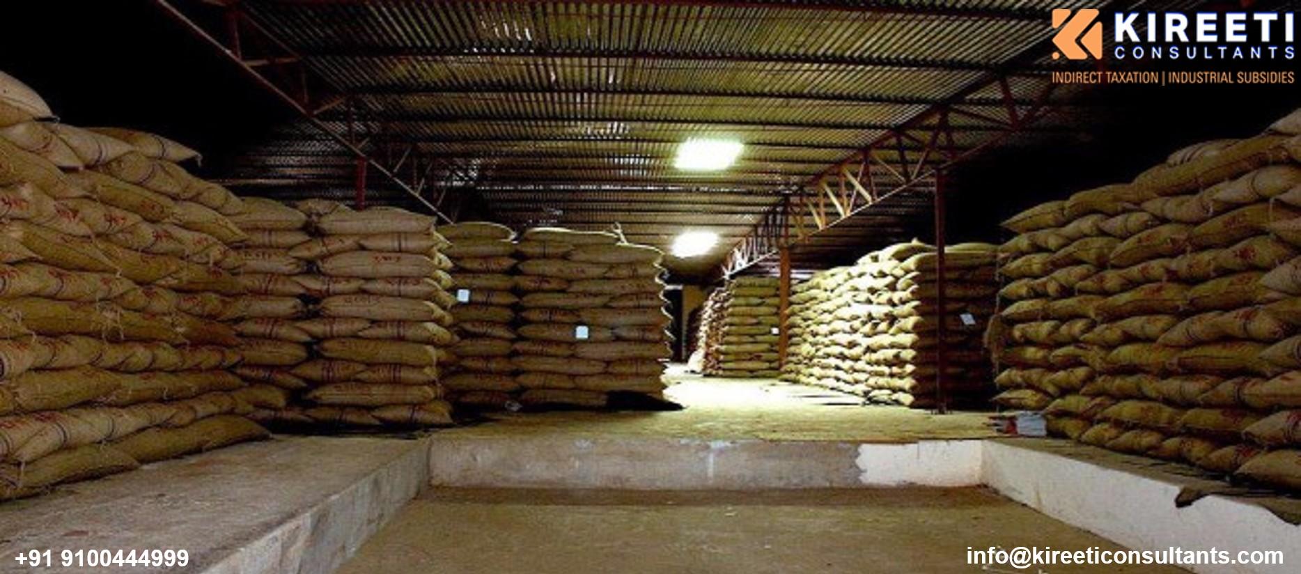Rural godown / warehouse subsidy scheme