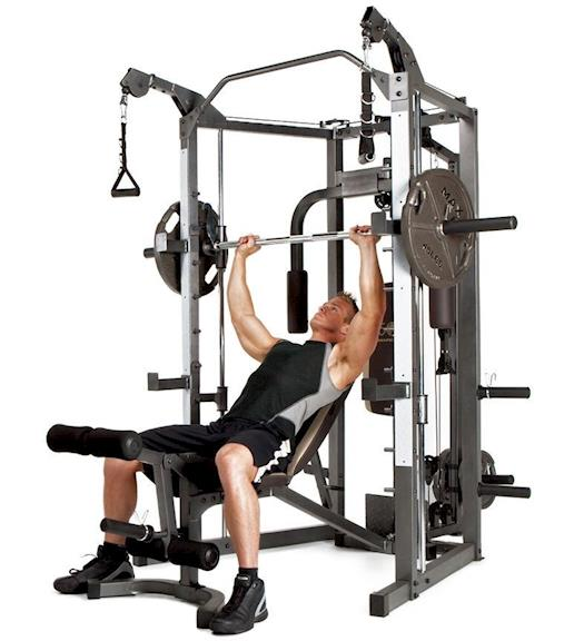Marcy Smith Machine Cage Cable Crossover