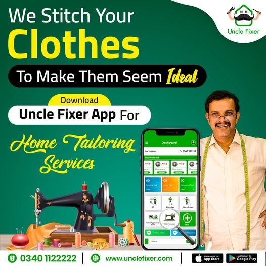 Home Tailoring Services | Tailoring Service – Uncle Fixer