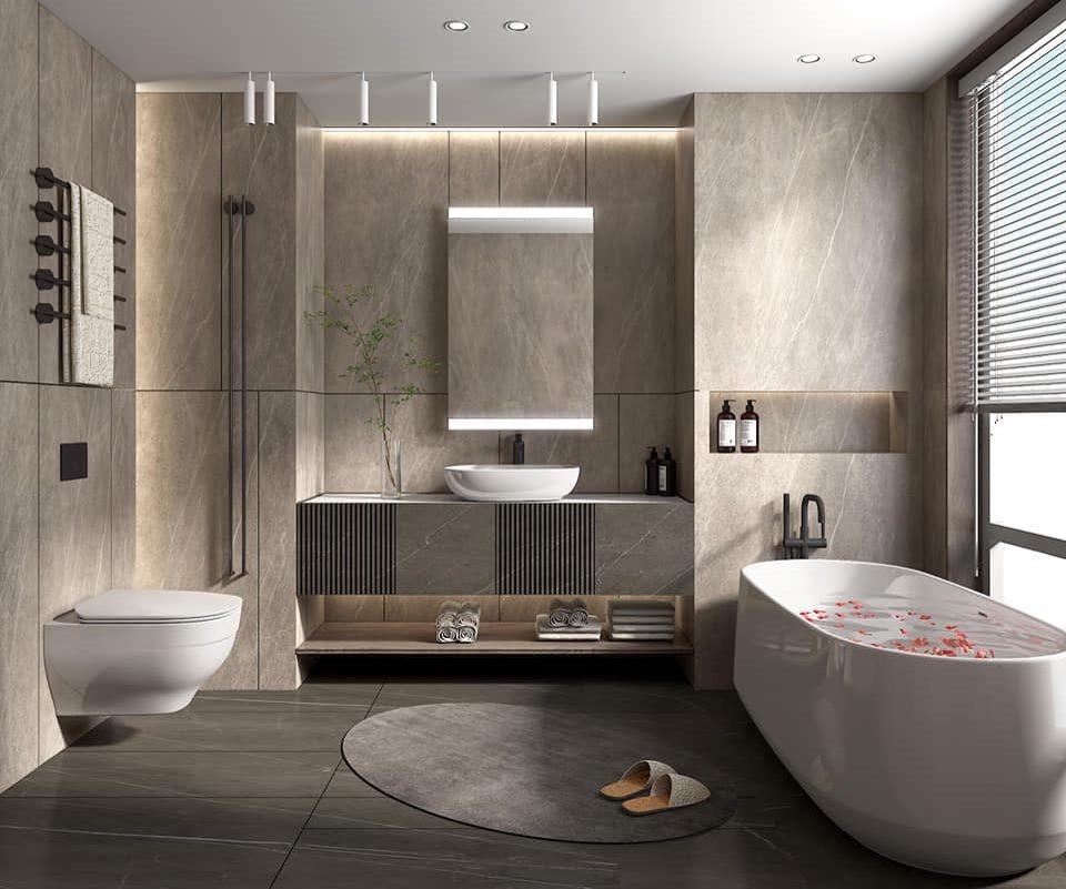 Kohler Bathroom with Bold Touches