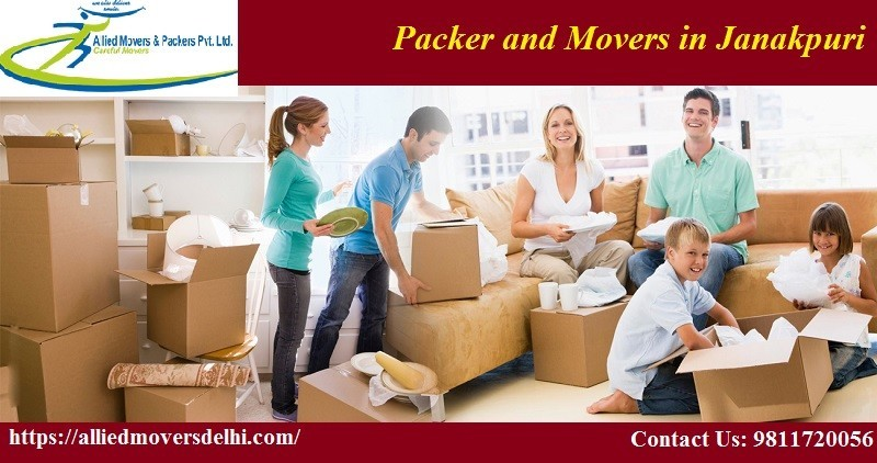 Packer and Movers in Janakpuri