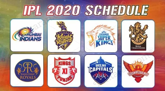 IPL 2020 Fixures, Live Scores & Match Predictions