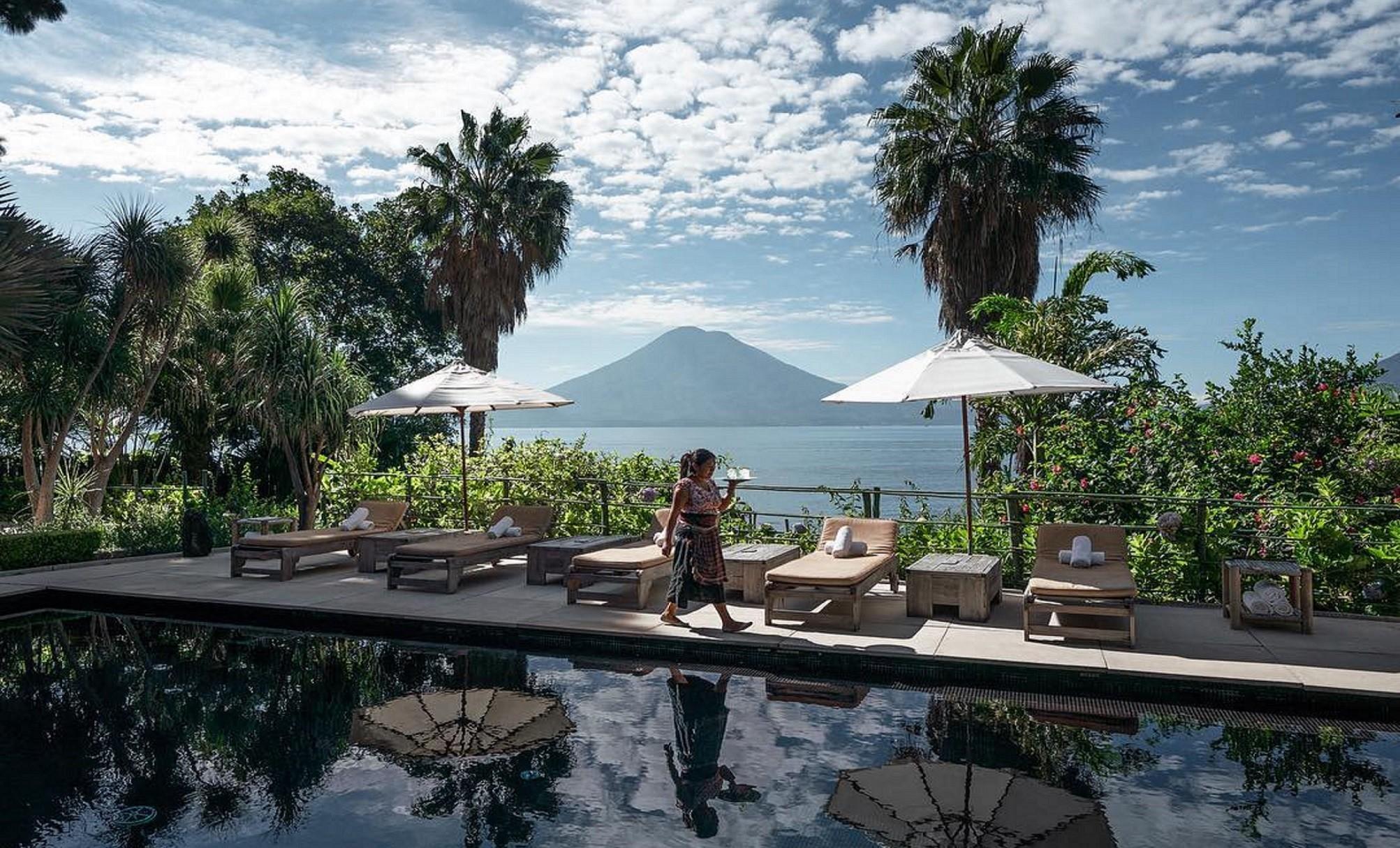 LAKE ATITLAN GUATEMALA - CASA PRANA RESORT HOTEL GUATEMALA