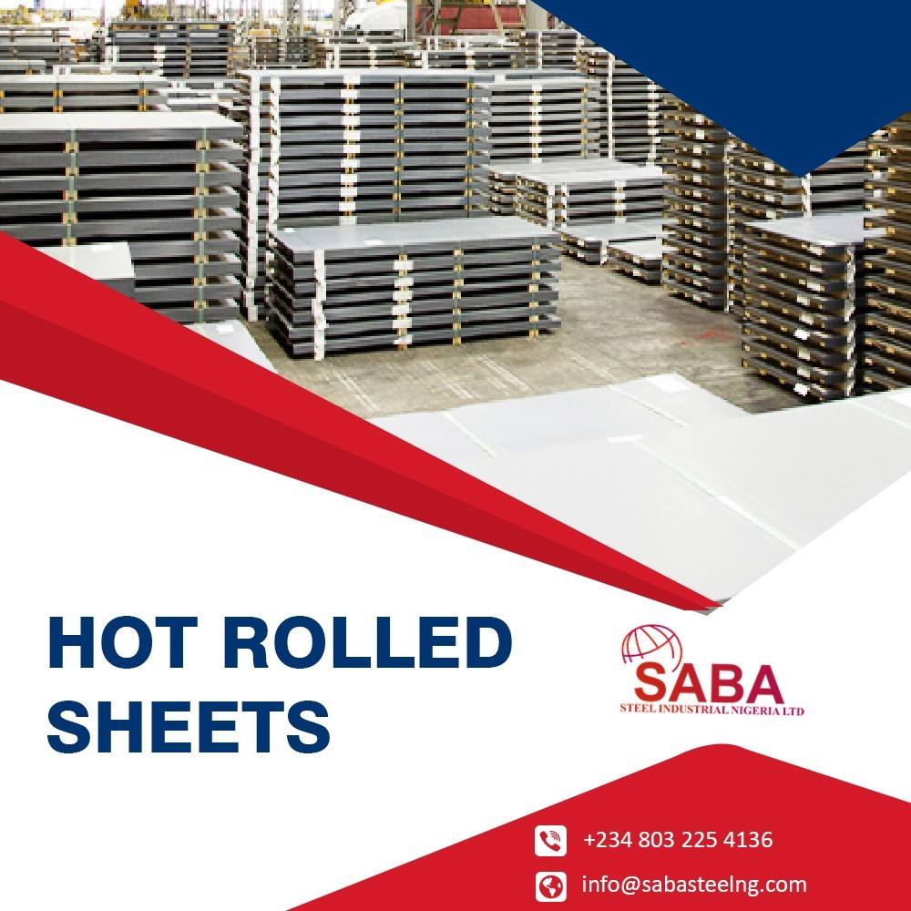 We are Provide customized Hot rolled sheets in Nigeria