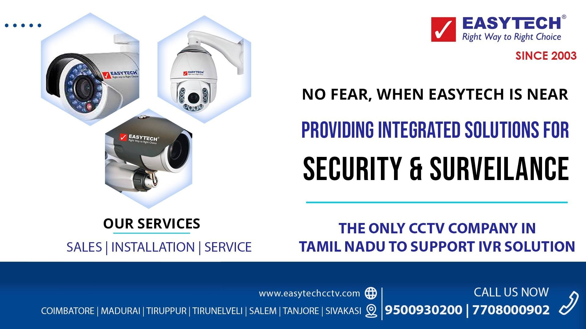 CCTV Dealers in Coimbatore | CCTV Camera Installation in Coimbatore