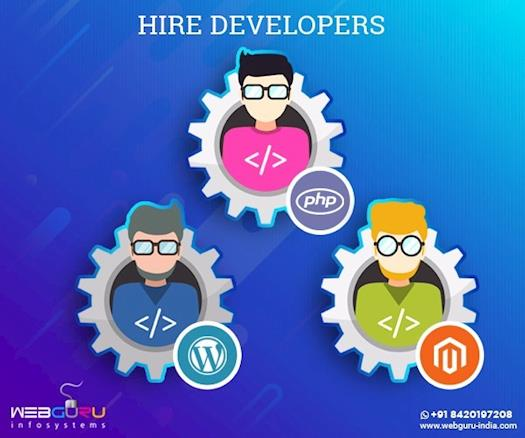 Hire Expert Web Developers In Various Technologies